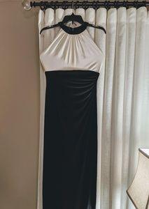 Ralph Lauren Long Dress with Beaded Neckline US 6